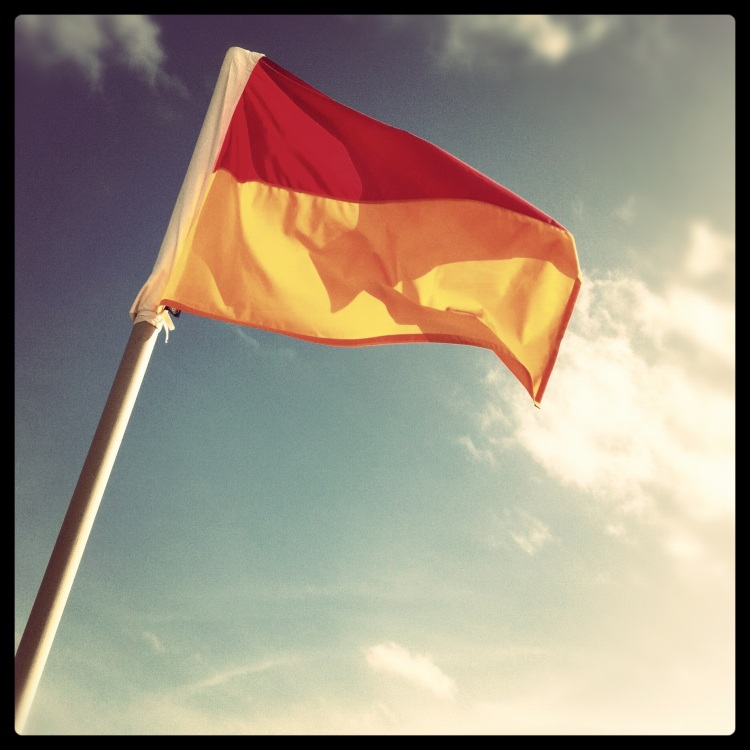 Lifesaving Flag - Port Kembla